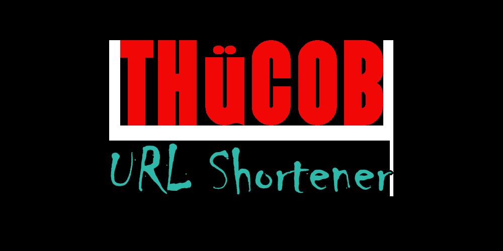 THÜCOB URL Shortener Logo